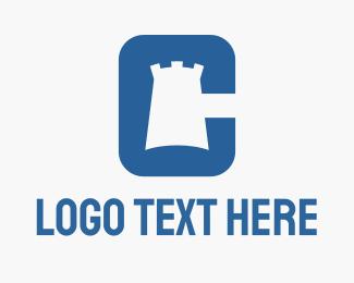 """""""Castle Letter C"""" by vectorizm"""