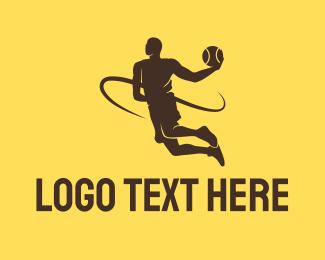 Varsity - Basketball Varsity Player logo design