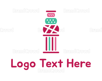 Bakeshop - Greek Cake logo design