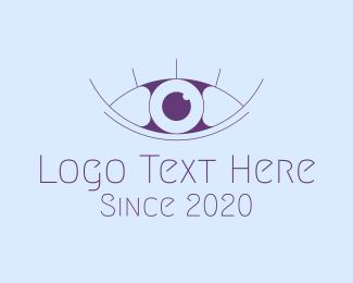 Eyelash - Minimalist Eye & Eyelashes logo design
