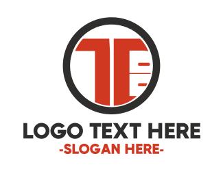 Manufacture - Red Desk logo design