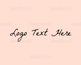 Casual - Retro Handwriting logo design