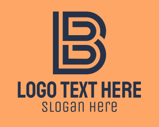 Industry - Outline Letter B  logo design