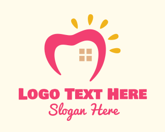 Dental - Sunny Lovely Home logo design