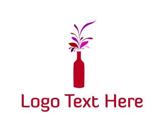 Vase - Flower Vase logo design