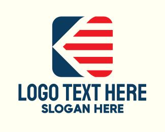 Stripes - Square Flag Stripes logo design