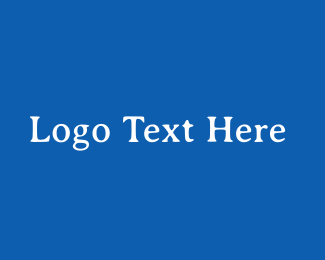 Traditional - Greek Blue & White logo design