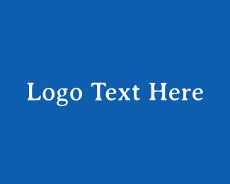 Traditional - Greek Blue & White logo design