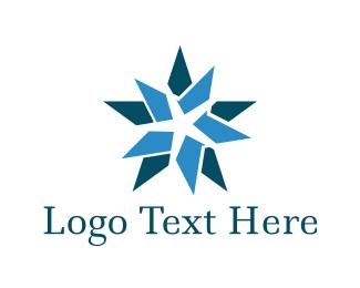 Wellness - Blue Starfish logo design