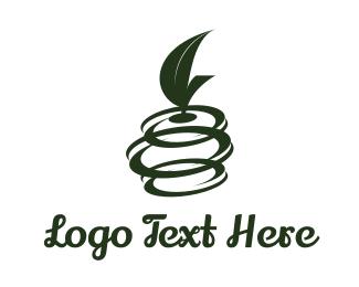 Olive - Fruit Spin logo design