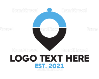 Cloche - Food Locator App logo design