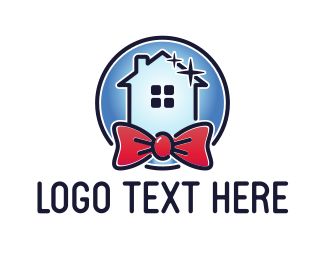 Bow Tie - Perfect Home logo design