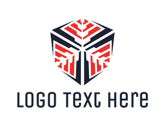 Snowflake - Snowflake Cube logo design