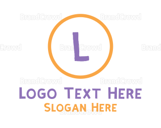 Babysitting - Crayon Circle logo design