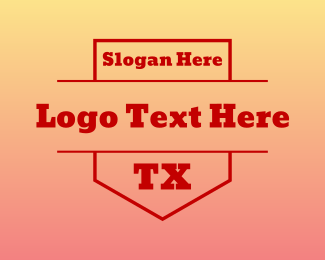 Dallas - TX Shield logo design