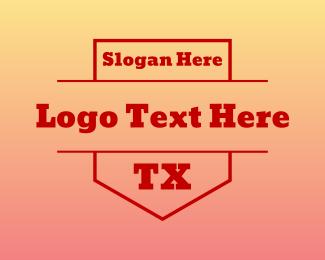 Dallas - TX Shield logo design