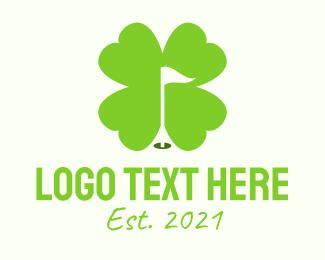 Lucky - Lucky Clover Golf logo design