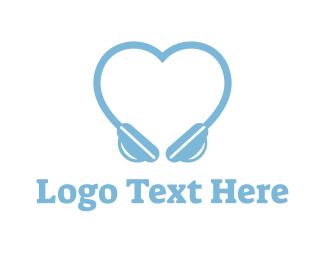 Music Festival - Love Beats logo design