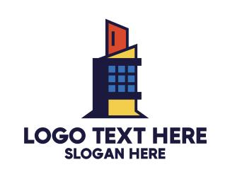 Contemporary - Contemporary Architecture Building logo design