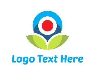 Webcam - Flower Camera logo design