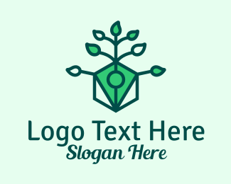 Pen - Natural Eco Pen  logo design