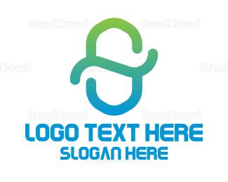 Conservation - Gradient Letter S logo design