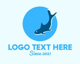 Stingray - Marine Shark logo design
