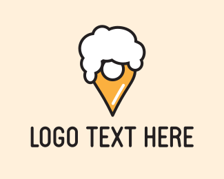 Booze - Beer Place logo design