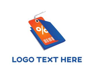 Sale - Discount Voucher logo design