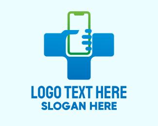 Telehealth - Health Medical App logo design