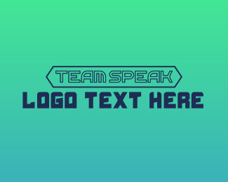 Messaging - Modern Gaming Wordmark logo design