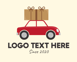 Package - Package Moving Car logo design