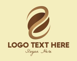 Coffee Bean - Brown Coffee Bean logo design