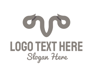 Grey - Grey Horns logo design
