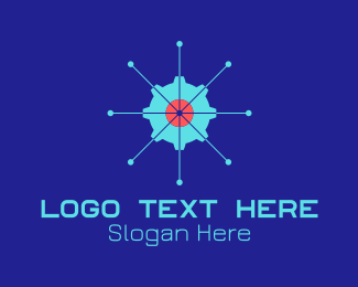 """Tech Cogwheel Startup"" by lazeefish"