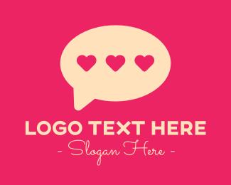 Dating - Love Dating App logo design