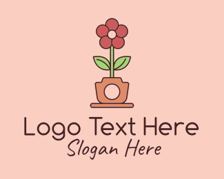 Photography - Flower Pot Photography  logo design