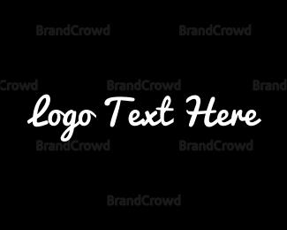 Calligraphy - B&W Style logo design