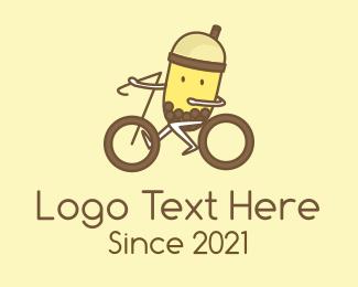 Tea - Milk Tea Cyclist logo design