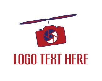 Communicate - Propeller Photo logo design