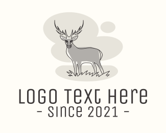 Wildlife - Wildlife Deer logo design