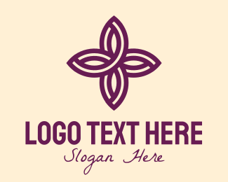 Decorative - Decorative Flower logo design