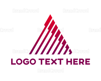 Architect - Modern Tech Letter A logo design