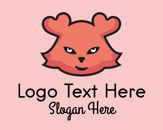 Masquerade - Heart Teddy Bear  logo design
