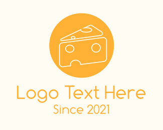Cheese Shop - Cheese Slice logo design