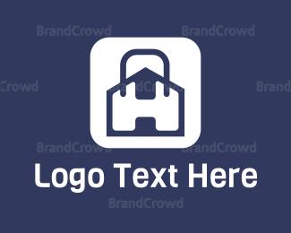 Bag - Bag & House logo design