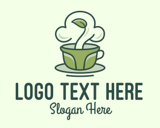 Home Garden - Green Organic Coffee logo design