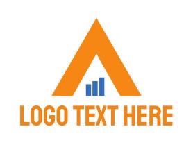 Financial - Financial Triangle logo design