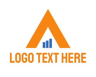 Pyramid - Financial Triangle logo design
