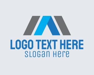 Innovate - Geometric Real Estate logo design